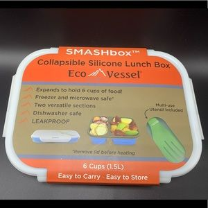 New Smashbox collapsible silicone lunchbox